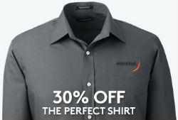 30% Off Perfect Dress Shirts