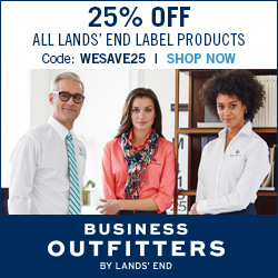 25% Off Lands' End Label Products