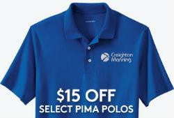 $15 Off Pima Polos