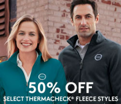 50% Off Thermacheck Fleece Styles